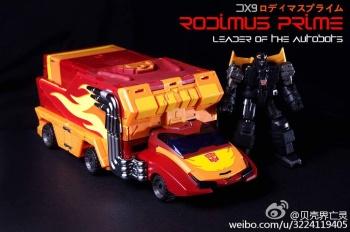 [DX9 Toys] Produit Tiers - Jouet D-06 Carry aka Rodimus et D-06T Terror aka Black Rodimus - Page 2 REgBjbqj