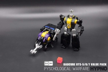 [BadCube] Produit Tiers - Jouet OTS-05 Claymore / OTS-06 Hypno / OTS-07 Kickbutt - aka Insecticons RwmBQxJm