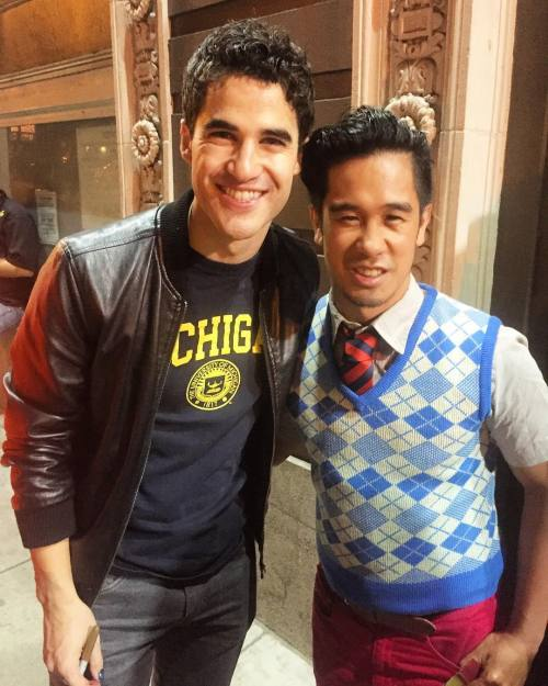 "Pics, gifs, media videos, curtain call videos, stage door videos, and posts of ""who saw Darren"" in Hedwig and the Angry Inch--SF and L.A. (Tour),  - Page 2 Tumblr_oeknuyfRTl1uetdyxo1_500"