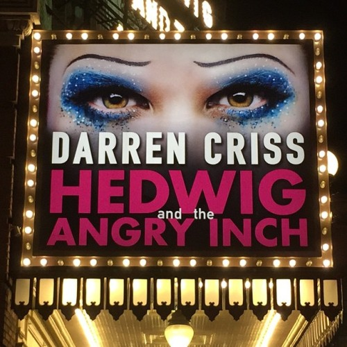 badapplesinthebigapple - Who saw Darren in Hedwig and the Angry Inch on Broadway? Tumblr_nqikbaLUZf1r4gxc3o2_500