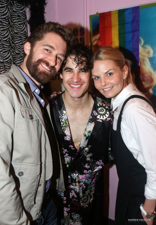 soproud - Who saw Darren in Hedwig and the Angry Inch on Broadway? Tumblr_nqpgszgpS41qayexuo6_500