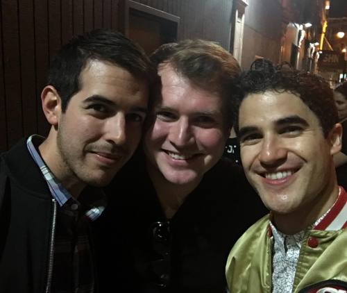 GLEE - Fan Reviews, Media Reviews, and comments from members of the Media, about Darren in Hedwig and the Angry Inch--SF and L.A. Tour  Tumblr_oenzgmnPP81uetdyxo5_500