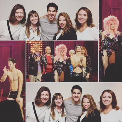 "GLEE - Pics, gifs, media videos, curtain call videos, stage door videos, and posts of ""who saw Darren"" in Hedwig and the Angry Inch--SF and L.A. (Tour),  - Page 5 Tumblr_og9fraojkq1uetdyxo2_500"