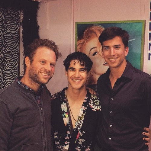 badapplesinthebigapple - Who saw Darren in Hedwig and the Angry Inch on Broadway? Tumblr_nobixcA6G71r4gxc3o1_500