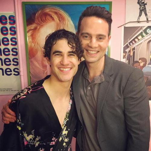 soproud - Who saw Darren in Hedwig and the Angry Inch on Broadway? - Page 2 Tumblr_nridbrigYy1r4gxc3o1_500