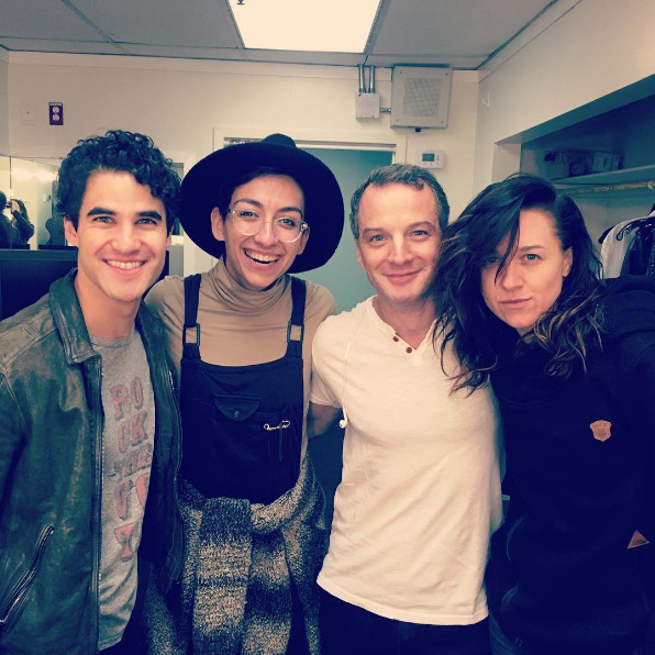 "GLEE - Pics, gifs, media videos, curtain call videos, stage door videos, and posts of ""who saw Darren"" in Hedwig and the Angry Inch--SF and L.A. (Tour),  - Page 5 Tumblr_ofzruv0f4y1qejuj4o1_1280"
