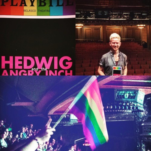 FlaggetryWithAnnMargretBonus - Fan Comments and Reviews, and Comments from others, who saw Darren in Hedwig and the Angry Inch on Broadway  - Page 2 Tumblr_nqoqan6HRg1r4gxc3o1_500