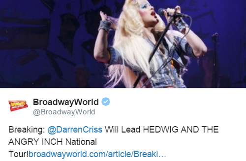 HedwigTour - The Hedwig and the Angry Inch Tour in SF and L.A. (Promotion, Pre-Performances & Miscellaneous Information) Tumblr_o6x4to1o6n1uetdyxo5_500