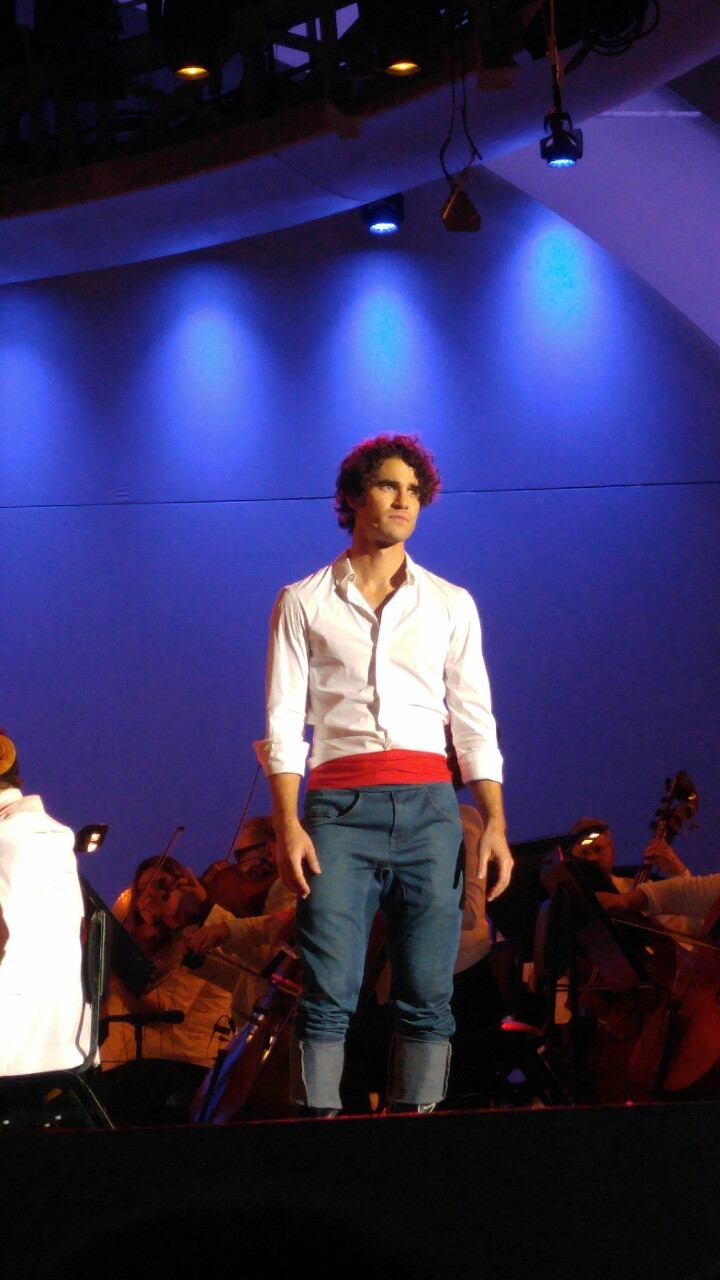 DARRENCRISS - The Little Mermaid at the Hollywood Bowl on June 3, 4, and 6, 2016 Tumblr_o8a9ikHnIt1qbu84eo1_1280