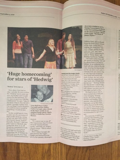 broadway - The Hedwig and the Angry Inch Tour in SF and L.A. (Promotion, Pre-Performances & Miscellaneous Information) - Page 3 Tumblr_ocn2iz85bL1qchwkqo9_500