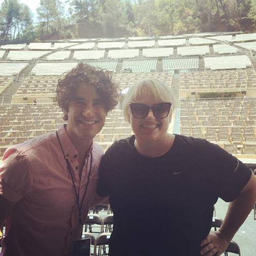 DARRENCRISS - The Little Mermaid at the Hollywood Bowl on June 3, 4, and 6, 2016 Tumblr_o87qnprTzT1uetdyxo1_500