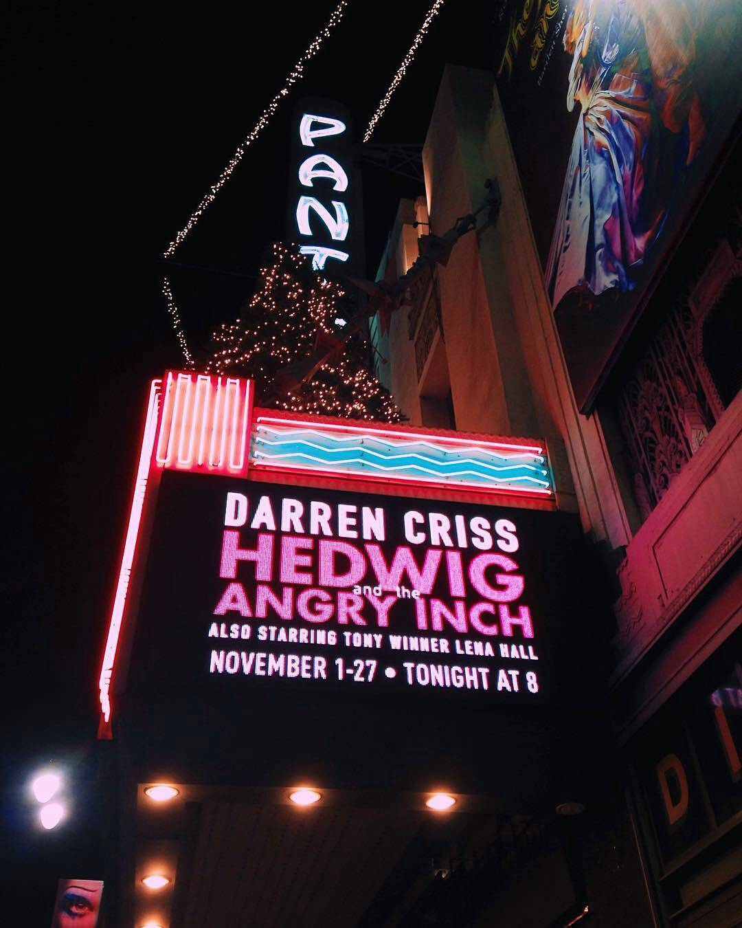absolutlyfabulous - Fan Reviews, Media Reviews, and comments from members of the Media, about Darren in Hedwig and the Angry Inch--SF and L.A. Tour  - Page 5 Tumblr_ogexxp1bfU1ubd9qxo1_1280