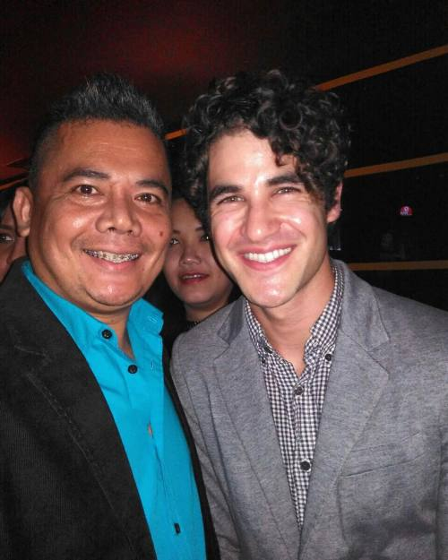 glee -  Darren Appreciation Thread: General News about Darren for 2016  Tumblr_o70rxt9yDu1uetdyxo1_500