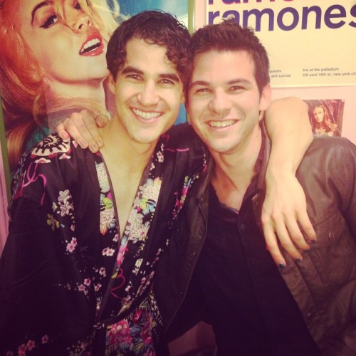 badapplesinthebigapple - Who saw Darren in Hedwig and the Angry Inch on Broadway? Tumblr_noqc9qy9vl1r4gxc3o1_500