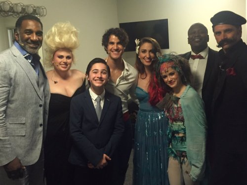 DARRENCRISS - The Little Mermaid at the Hollywood Bowl on June 3, 4, and 6, 2016 Tumblr_o88gyb9zVw1uetdyxo1_500