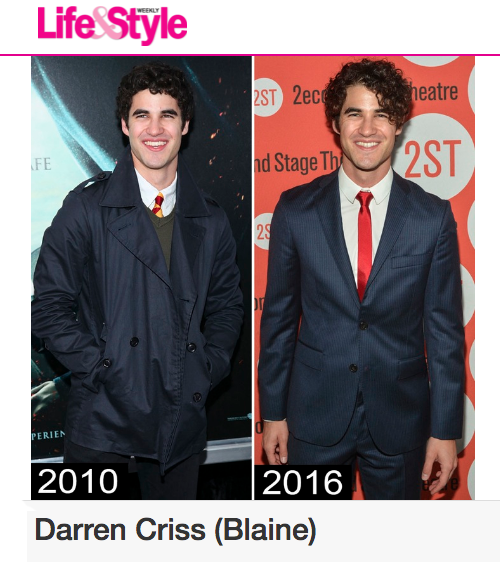 glee -  Darren Appreciation Thread: General News about Darren for 2016  Tumblr_o7utieos151uetdyxo1_500