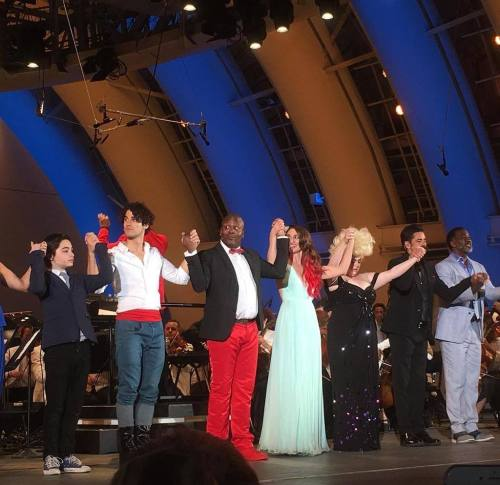 DARRENCRISS - The Little Mermaid at the Hollywood Bowl on June 3, 4, and 6, 2016 Tumblr_o8ae2yGaQJ1uetdyxo1_500