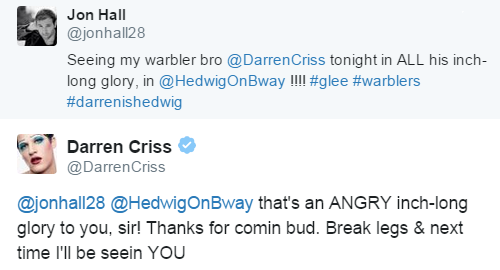 soproud - Who saw Darren in Hedwig and the Angry Inch on Broadway? Tumblr_nq2s1dtfj51r4gxc3o1_500