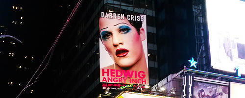 darrenishedwig - Pics and gifs of Darren in Hedwig and the Angry Inch on Broadway. Tumblr_nrr1meB61U1qan42po3_500