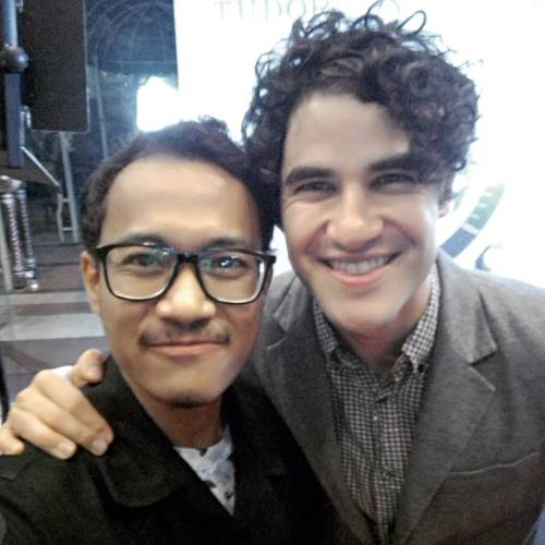 patrickgaveushouseseats -  Darren Appreciation Thread: General News about Darren for 2016  Tumblr_o70s6ywioi1uetdyxo1_500
