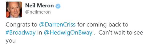 darrenishedwig - Pics and gifs of Darren in Hedwig and the Angry Inch on Broadway. Tumblr_njxhi0TZNC1r4gxc3o1_500