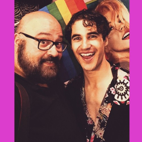 Rainbow - Fan Comments and Reviews, and Comments from others, who saw Darren in Hedwig and the Angry Inch on Broadway  - Page 2 Tumblr_nqoutxPydn1r4gxc3o1_500