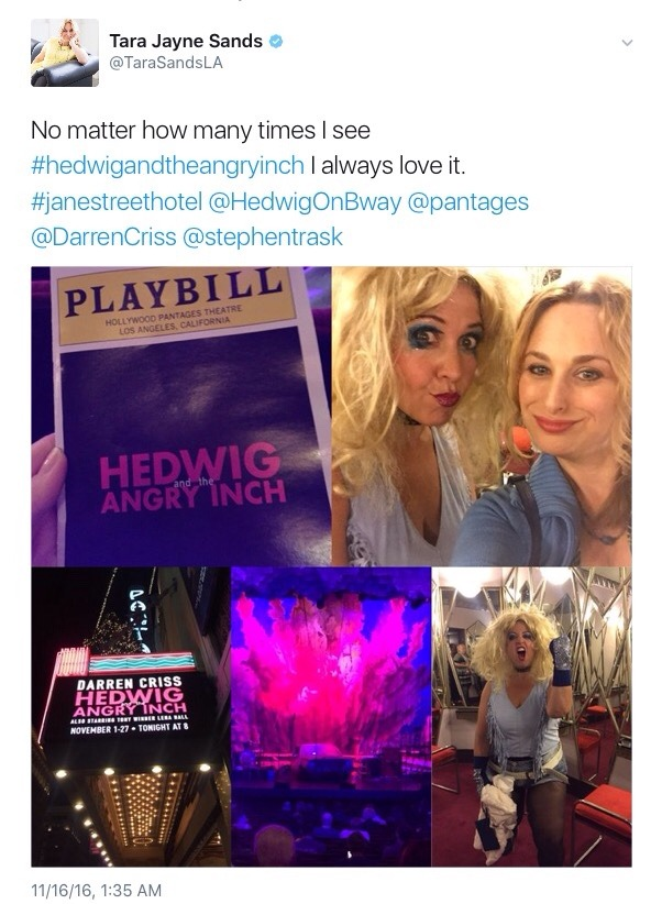 absolutlyfabulous - Fan Reviews, Media Reviews, and comments from members of the Media, about Darren in Hedwig and the Angry Inch--SF and L.A. Tour  - Page 6 Tumblr_ogqq4x6ze31ubd9qxo1_1280