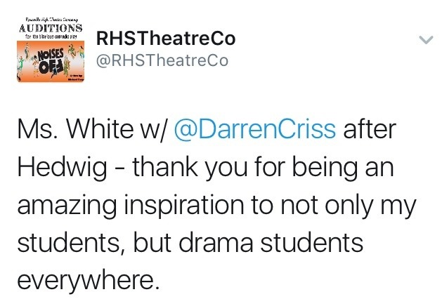 Theatre - Fan Reviews, Media Reviews, and comments from members of the Media, about Darren in Hedwig and the Angry Inch--SF and L.A. Tour  - Page 2 Tumblr_oer869mv6Q1ubd9qxo2_1280