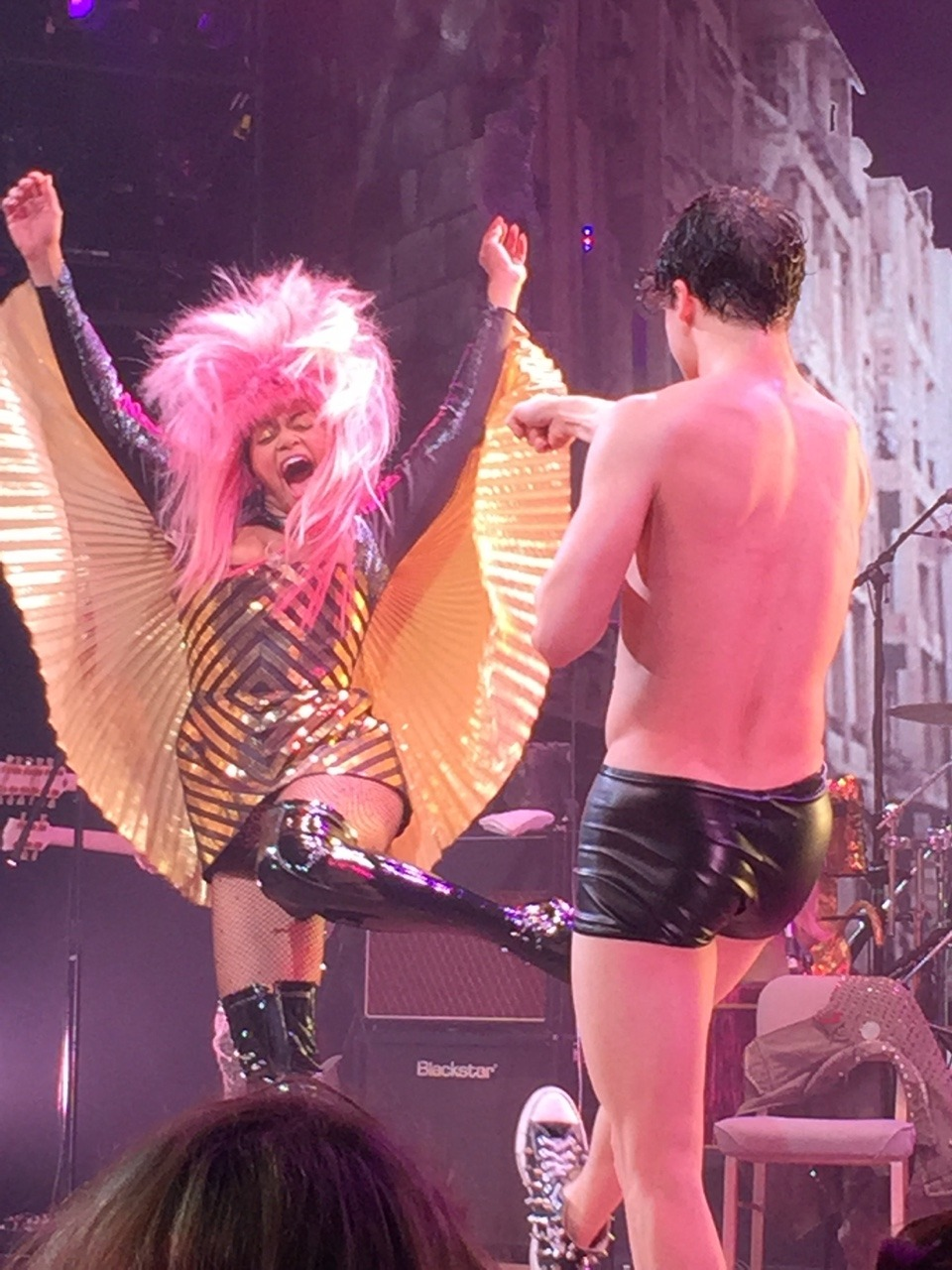 darrenishedwig - Pics and gifs of Darren in Hedwig and the Angry Inch on Broadway. Tumblr_nq6b14Y2Qk1qdtnwjo5_1280