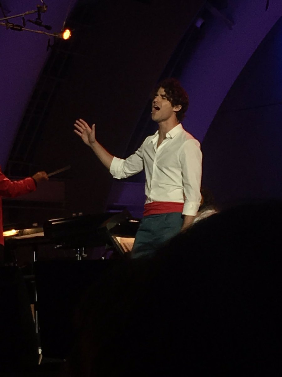 DARRENCRISS - The Little Mermaid at the Hollywood Bowl on June 3, 4, and 6, 2016 Tumblr_o8adl83oVz1uetdyxo10_1280