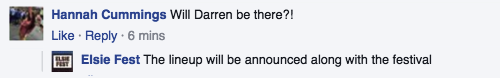 festival -  Darren Appreciation Thread: General News about Darren for 2016  Tumblr_o7nh0pq3mz1uetdyxo7_500
