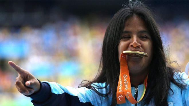 """""""Voy, corro y listo"""": la argentina Yanina Martínez cumple su plan con un oro en el atletismo de los Juegos Paralímpicos Tumblr_odjz4k3MfY1ttvyeto1_1280"""