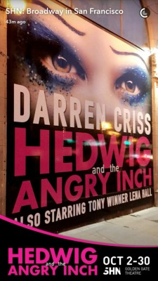 "Pics, gifs, media videos, curtain call videos, stage door videos, and posts of ""who saw Darren"" in Hedwig and the Angry Inch--SF and L.A. (Tour),  - Page 2 Tumblr_oelulluZ391qbool4o3_250"