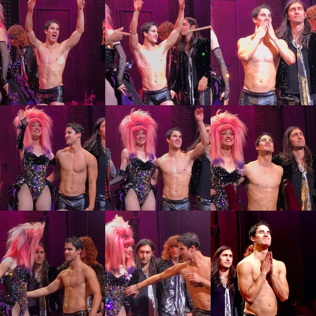 "GLEE - Pics, gifs, media videos, curtain call videos, stage door videos, and posts of ""who saw Darren"" in Hedwig and the Angry Inch--SF and L.A. (Tour),  - Page 5 Tumblr_ofwe7q44At1r0rx8mo1_1280"