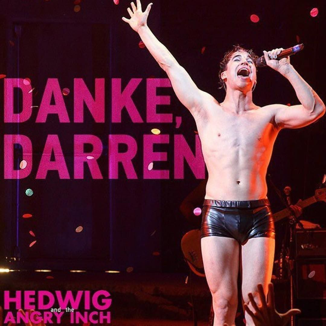 "hedwigandtheangryinch - Pics, gifs, media videos, curtain call videos, stage door videos, and posts of ""who saw Darren"" in Hedwig and the Angry Inch--SF and L.A. (Tour),  - Page 7 Tumblr_ohbti8EeKq1ubd9qxo1_1280"