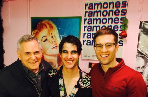 soproud - Who saw Darren in Hedwig and the Angry Inch on Broadway? Tumblr_npk539fNil1r4gxc3o1_500