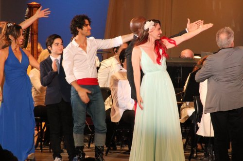 DARRENCRISS - The Little Mermaid at the Hollywood Bowl on June 3, 4, and 6, 2016 Tumblr_o8ae2yGaQJ1uetdyxo9_500
