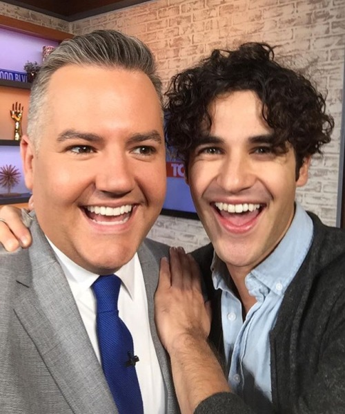 amazing -  Darren Appreciation Thread: General News about Darren for 2016  - Page 9 Tumblr_ocfkr1yeZA1uetdyxo1_500