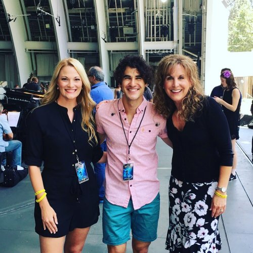 DARRENCRISS - The Little Mermaid at the Hollywood Bowl on June 3, 4, and 6, 2016 Tumblr_o887gpB67e1uetdyxo2_500