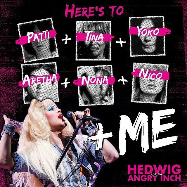 "hedwigandtheangryinch - Pics, gifs, media videos, curtain call videos, stage door videos, and posts of ""who saw Darren"" in Hedwig and the Angry Inch--SF and L.A. (Tour),  - Page 7 Tumblr_ohbe09fOIx1ubd9qxo1_1280"