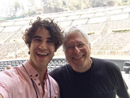 DARRENCRISS - The Little Mermaid at the Hollywood Bowl on June 3, 4, and 6, 2016 Tumblr_o8ahds7moq1uetdyxo1_500