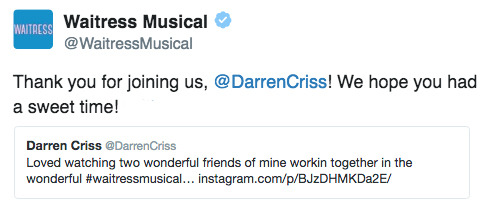 Nyc -  Darren Appreciation Thread: General News about Darren for 2016  - Page 11 Tumblr_od39ihEBLr1uetdyxo1_500