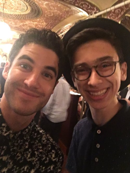 Nyc -  Darren Appreciation Thread: General News about Darren for 2016  - Page 11 Tumblr_odzozfMA5G1uetdyxo1_500