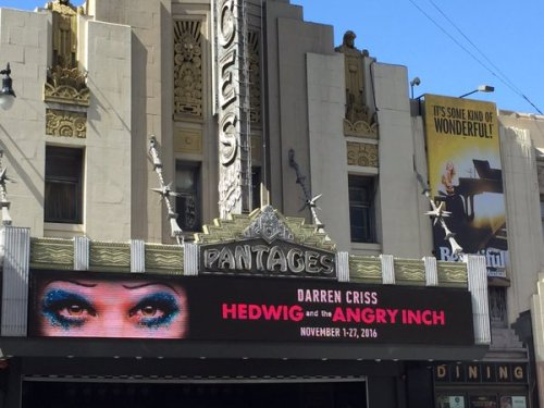 hedwigram - The Hedwig and the Angry Inch Tour in SF and L.A. (Promotion, Pre-Performances & Miscellaneous Information) Tumblr_o7ju256ZrT1uetdyxo1_500