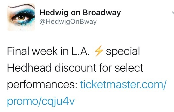 Queer - The Hedwig and the Angry Inch Tour in SF and L.A. (Promotion, Pre-Performances & Miscellaneous Information) - Page 7 Tumblr_oh0idxIuDG1ubd9qxo1_1280