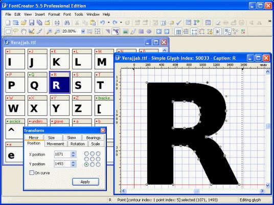 Font Creator Professional 5.5.0.63 Al9d0ddl7yqr5mm0y
