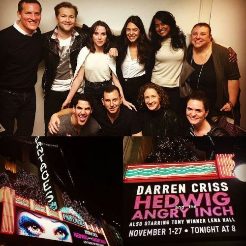 "celebrityphotographer - Pics, gifs, media videos, curtain call videos, stage door videos, and posts of ""who saw Darren"" in Hedwig and the Angry Inch--SF and L.A. (Tour),  - Page 7 Tumblr_ogtyhsjeCm1ubd9qxo1_500"