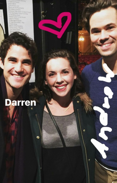 LA -  Darren Appreciation Thread: General News about Darren for 2016  - Page 15 Tumblr_ohm8tza7wS1qbool4o1_500