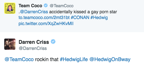 darrenishedwig - Pics and gifs of Darren in Hedwig and the Angry Inch on Broadway. - Page 2 Tumblr_omvjqzpf9U1uetdyxo2_500