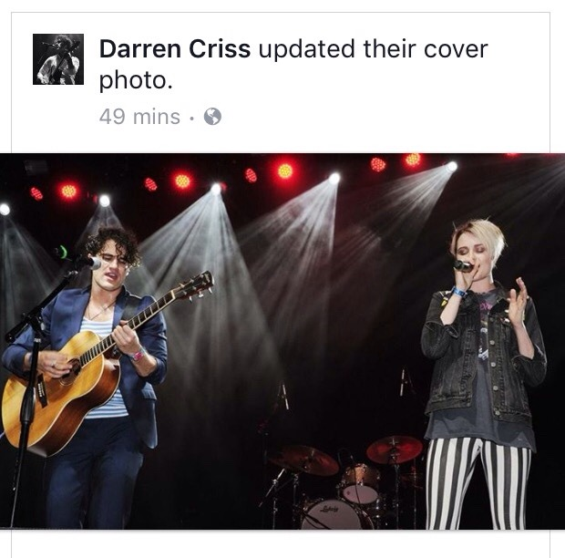 sanfrancisco - Darren Appreciation Thread: General News about Darren for 2017 - Page 2 Tumblr_ok8zzvhVzX1ubd9qxo2_1280
